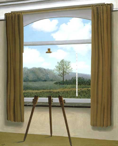 """""""A Condição Humana I"""" (1933), Magritte"""